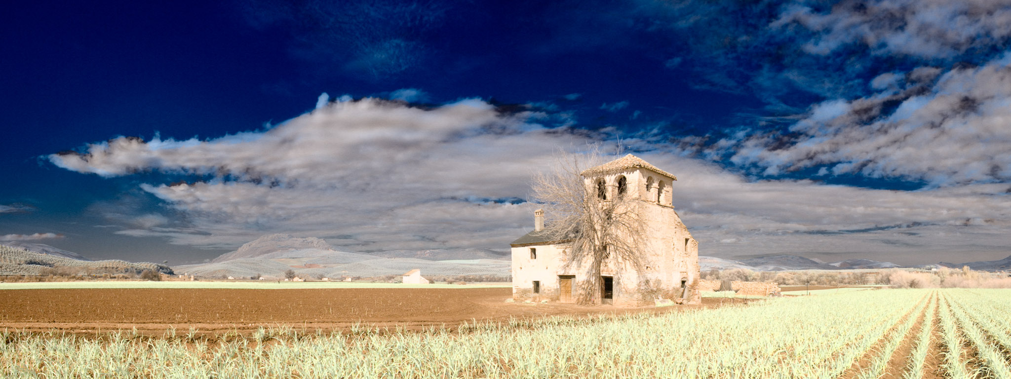 Barn near Seville, Spain
