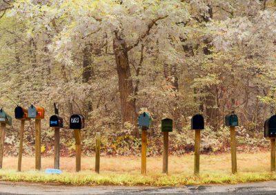 Mailboxes, Chilmark, Martha's Vineyard