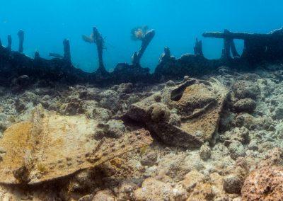 City of Washington wreck site, Key Largo