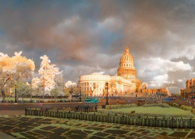 Capitolio at Sunrise, Central Havana