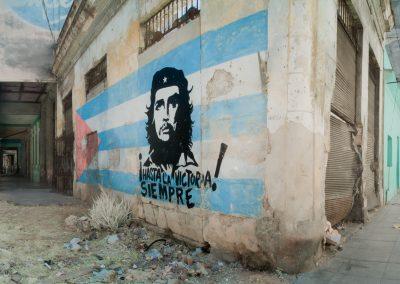 Che Guevara Mural, Vieja