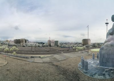 Infrared Panorama of Revolution Square