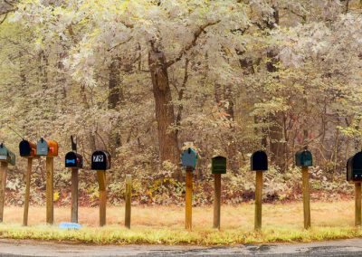 Mailboxes, Chilmark, Martha's Vineyard