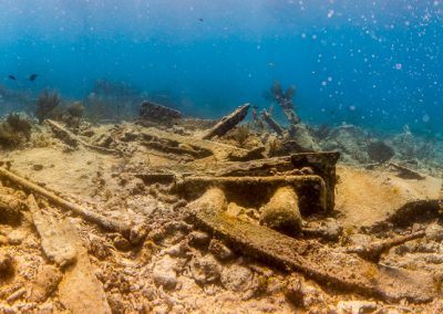 Wreck of the Hannah M. Bell, Key Largo