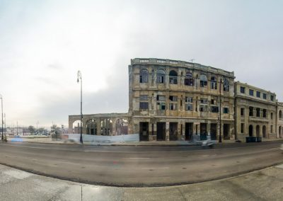 Infrared Panorama of the Malecón, Havana
