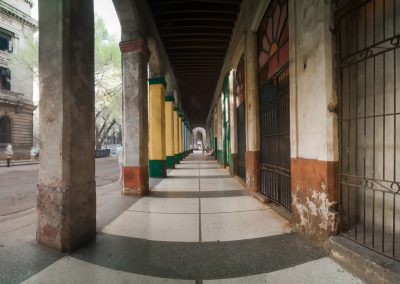 Colonnade on Agramonte